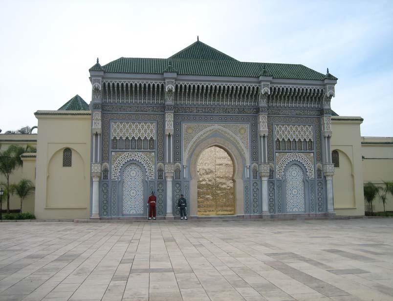 Ansicht Szenerie alte Map of Marokko Al Maghreb Palast Marrakesch Casablanca NEU
